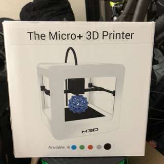 The micro+ 3D printer by M3D