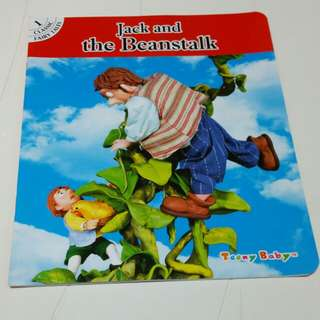 Jack & the Beanstalk story book (New)