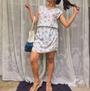 H&M white dress!