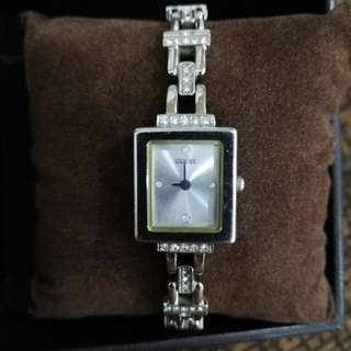 guess watch with stones