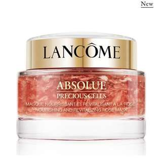 Lancome Absolue Precious Cells Nourishing and Revitalising Rose Mask