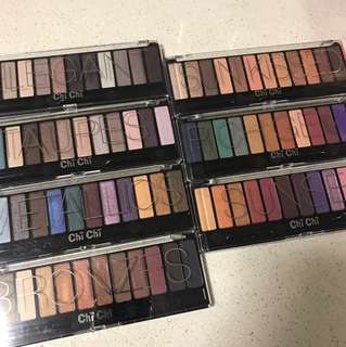 $30 for ALL Chi Chi Eye Palettes