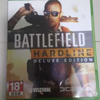 Battlefield Hardline Xbox 1