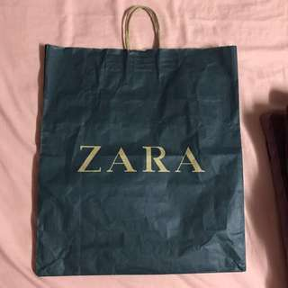 ZARA XL Paper Bag