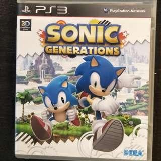 PS3 Sonic Genarations