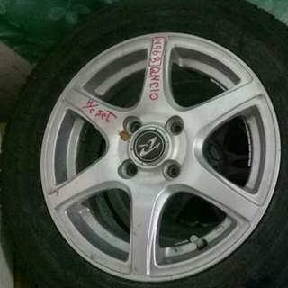 "Rim 14"" pcd 100 et standart price nego self collect"