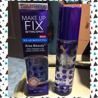 🍃 KISS BEAUTY MAKEUP FIX SPRAY