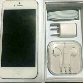 IPHONE 5S (GOOD AS NEW)