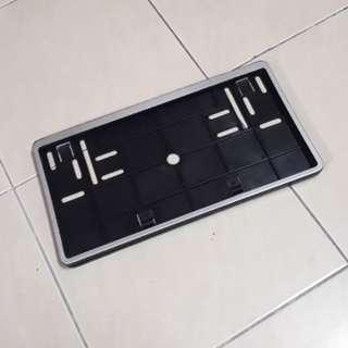 Plate Number Holder