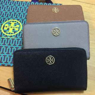 Tory Burch Robinson Mini Continental 銀包 中夾 *現貨*