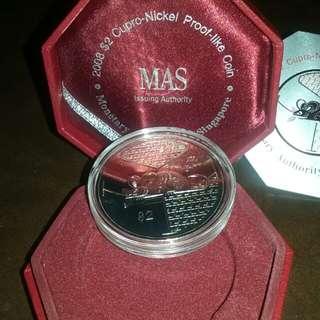 2008 $2 Almanac Coin
