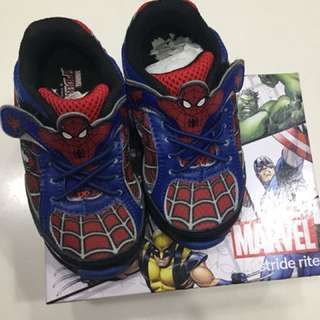 Stride ride marvel spiderman shoes