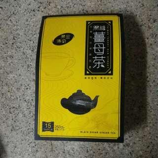 黑金傳奇: 黑糖薑母茶250g(盒裝) ,有15粒