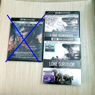 (Pending) Lone Survivor 4K Ultra HD + Blu-ray + Digital HD