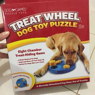 Kyjen Treat Wheel Dog Toy Puzzle