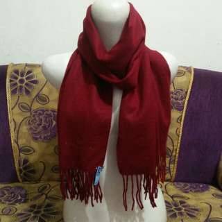 Syal cashmere import