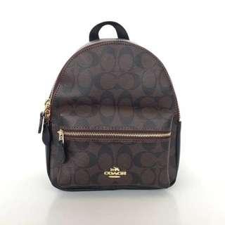 Coach Signature Mini Charlie Backpack