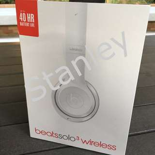 Beats Solo3 Wireless On-Ear Headphone 無線藍芽耳機