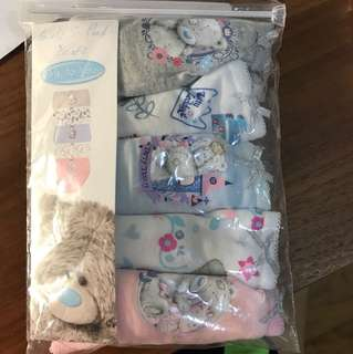 Girls Panties 2-3year old set of 5