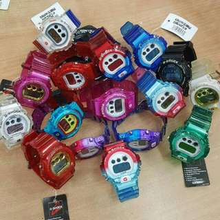 G-SHOCK DW6900 JELLY