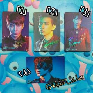VIXX/Leo/Hyuk/N「YES!」咭