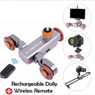 Yelangu DSLR Motorized Electric Autodolly