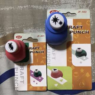 2 Craft Punchers small and medium