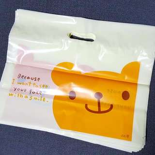 Bear Plastic/ Party Gift Bag