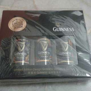 Limited Edition Design Guinness Miniature bottles set of water #15Off