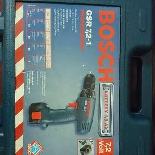 Bosch 7.2v 電批