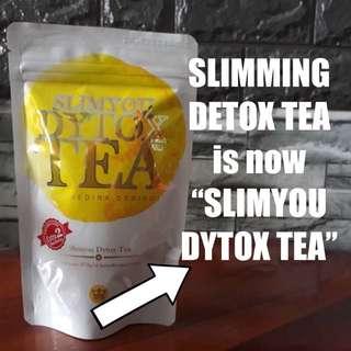 Instocks Slimyou dytox tea