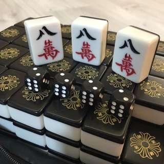 Chrome Hearts Mahjong Set