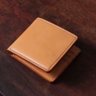 [ U'NIDO ] 原創手作 經典品味義大利鞍革多卡位短夾-養皮原色/ 多工序製作/ 簡約實用/ 中性設計/ 暖心禮物