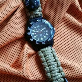 Rugged Survival Watch Khakis color