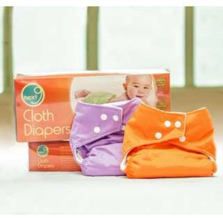 Next9 Cloth Diaper Set / Washable Diapers by HUMAN❤NATURE