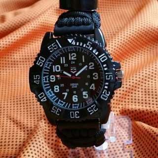 Rugged Survival Watch Black