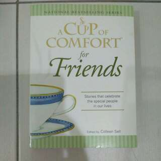 🌟Inspirational book - a cup of comfort for friends