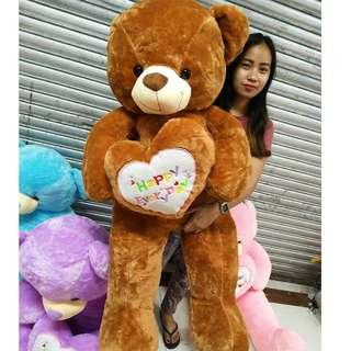 5 ft teddy bear