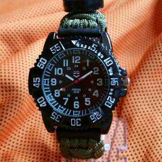 Rugged Survival Watch Army Green
