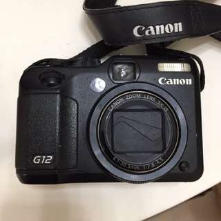 Canon G12 - 100% working condition