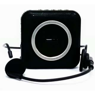 Portable Voice Amplifier With Headset Microphone