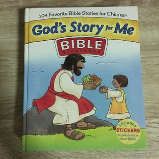 Bible storybook for children