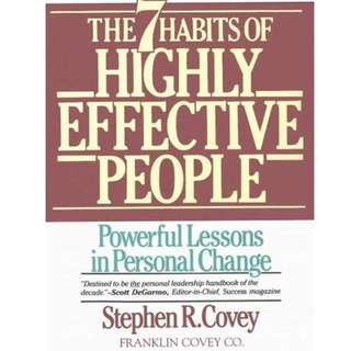 Free ebook 7 highly effective people