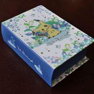 Pokemon Center Exclusive Mimikyu Book Type Memo Pad (Pre-Order)