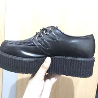 Demonia Faux Leather Creepers