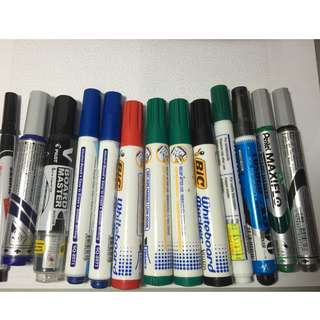 White Board Markers(Various colors)