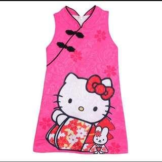 Instocks Hello Kitty Cheongsam/ CNY Dress