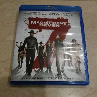 The Magnificent Seven Blu Ray