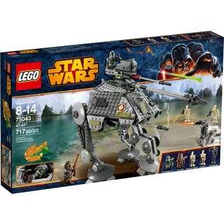 全新Lego 75043 Starwars AT-AP