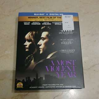 A Most Violent Year Blu Ray